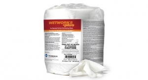Hospeco Launches WetWorks +Plus Pre-Saturated Surface Disinfecting Wipes