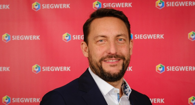 Nicolas Wiedmann takes over as new Siegwerk CEO