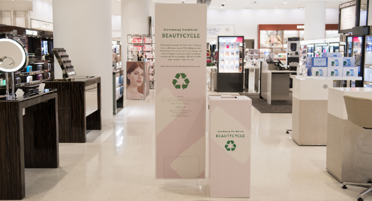 Nordstrom and Beautycycle Expand Recycling Program to Canada