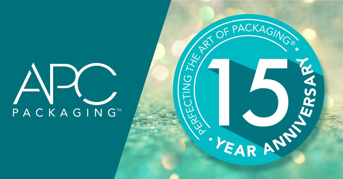 APC Packaging  Celebrates 15 Year Anniversary