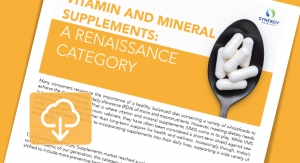 Vitamin/Mineral Supplements: Growth & Opportunity