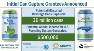 Initial Can Capture Grant Recipients Announced