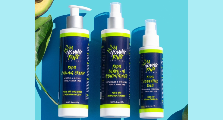 Young King Hair Care Launches in Target and Walmart Stores