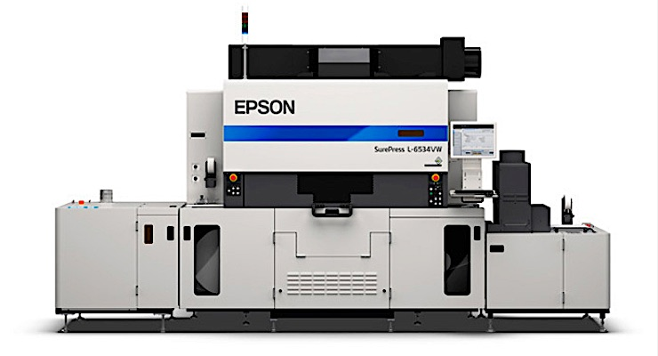 Epson SurePress reaches milestone
