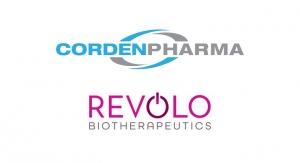 Revolo Biotherapeutics, CordenPharma Enter Master Service Agreement