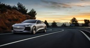 Audi Unveiling 4-door Audi A6 e-tron Concept