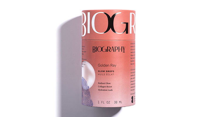 Biography's Face Oils Create a 'Personal'  Narrative