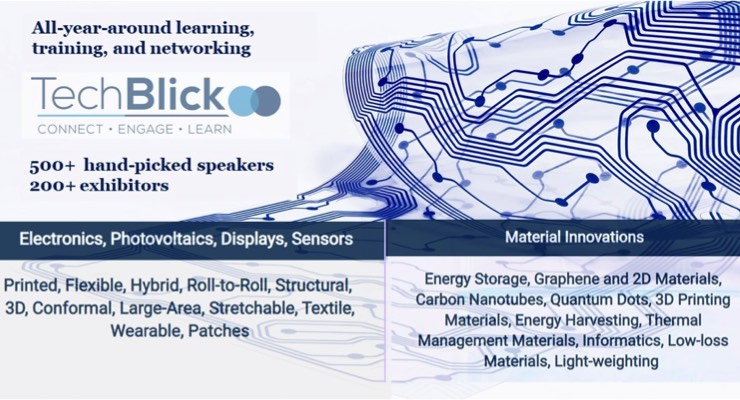 TechBlick Announces Agenda For Next Printed, Hybrid, Structural, 3D Electronics Virtual Event
