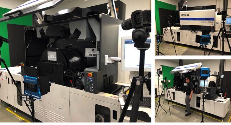 Epson upgrades SurePress demo facility