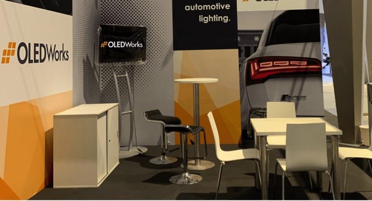 OLEDWorks Exhibits at Auto Shanghai 2021