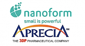 Nanoform, Aprecia Partner to Advance 3DP Nanomedicines