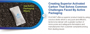 Creating Superior Activated Carbon That Solves Common Challenges Faced By Active Packaging