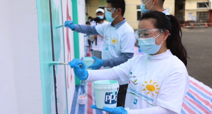 PPG Completes COLORFUL COMMUNITIES Project at Yuhong Primary School in Jiading District of Shanghai