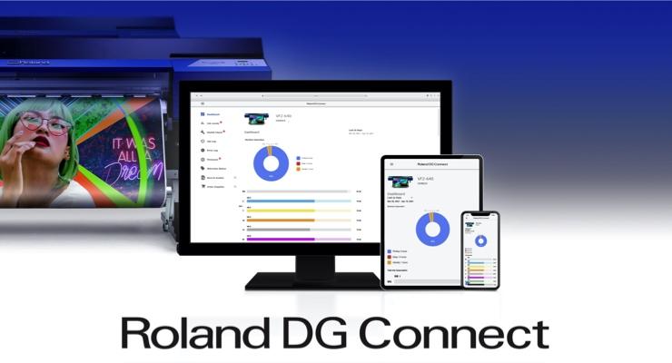 Roland DGA Launches Roland DG Connect App