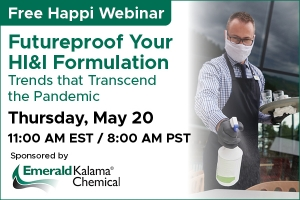 Futureproof Your HI&I Formulation - Trends that Transcend the Pandemic