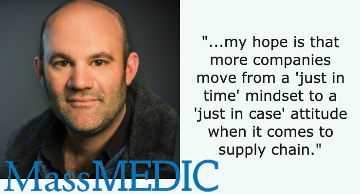 A Lifetime in Medtech: MassMEDIC's Brian Johnson  Offers a Snapshot of the Industry