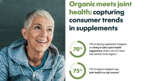 Organic meets joint health: capturing consumer trends in supplements