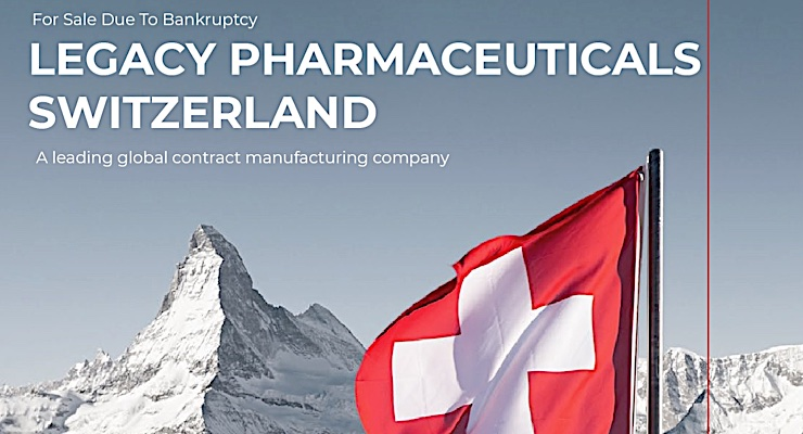 Hilco Industrial Acquires Machinery & Equipment from Legacy Pharmaceuticals
