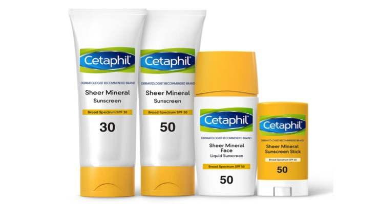Cetaphil Launches Mineral Sunscreens and Public Sun Safety Campaign