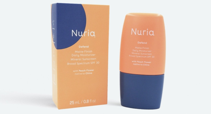 Indie Beauty Brand Nuria Debuts Matte Moisturizer Mineral Sunscreen