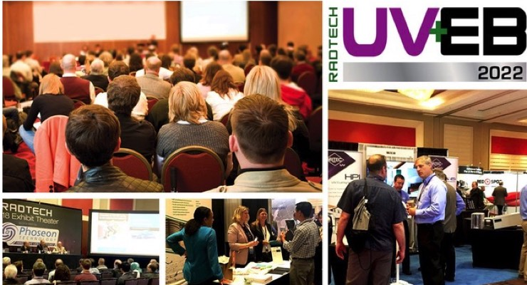 RadTech Announces Dates for RadTech 2022 UV+EB Technology Expo & Conference
