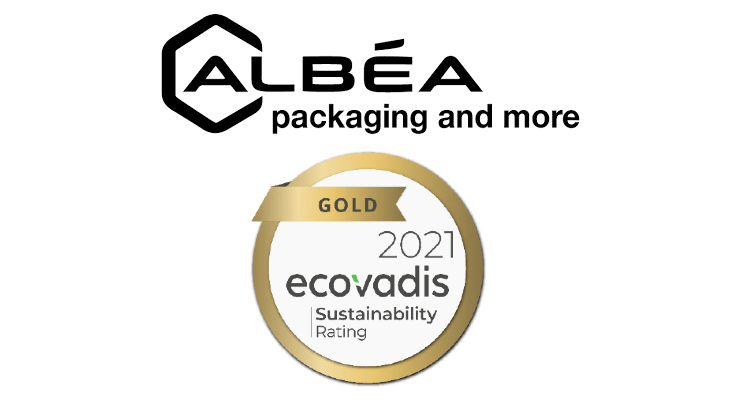 Albéa Earns EcoVadis Gold