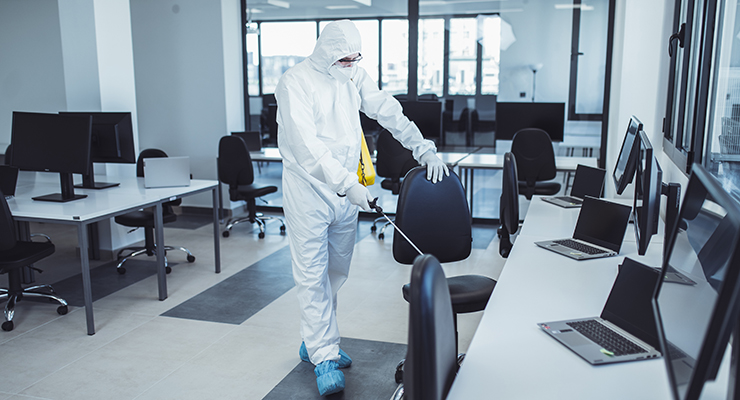 Demand Soars for Cleaning Staff