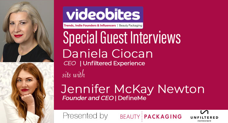 Videobite: Interview with Jennifer McKay Newton, Founder and CEO, DefineMe