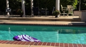 Pool Deck Gets TracSafe Anti-Slip Sealer