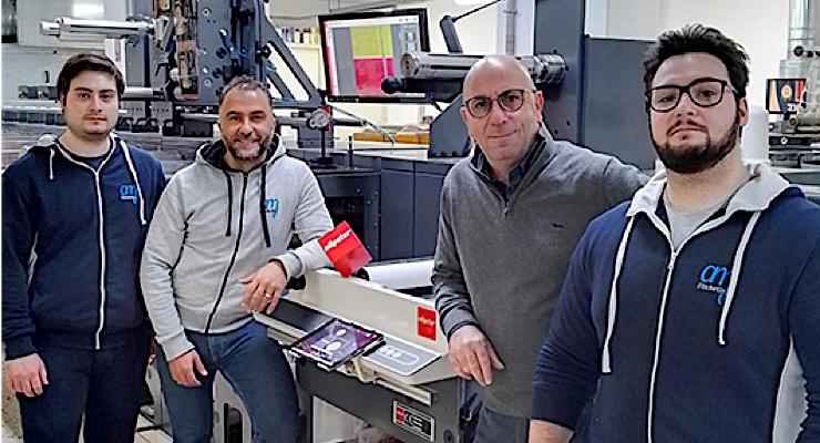 Italian printer upgrades to Nilpeter FA-17