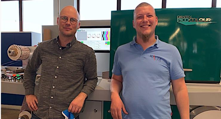 Austrian label printer chooses Dantex PicoColour digital press