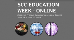Society of Cosmetic Chemists To Host Online Education Week in June