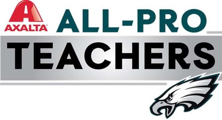 Imhotep Institute Charter HS Teacher Named 2020 Axalta All-Pro Teacher of the Year