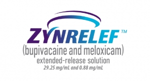 Zynrelef Anesthetic Receives FDA Approval