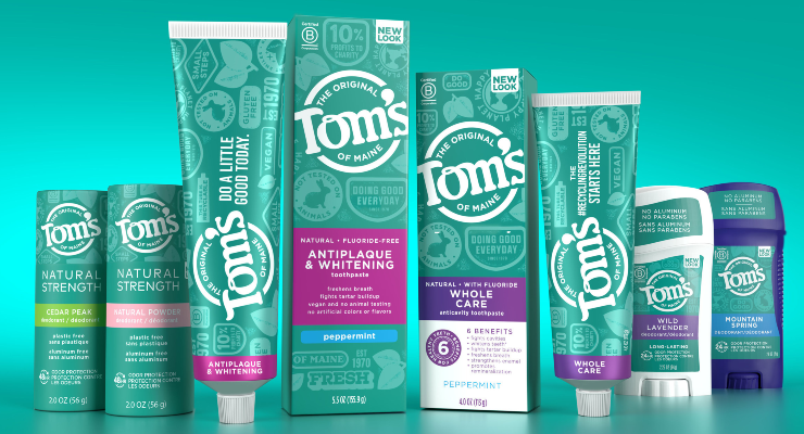 Tom's of Maine Updates Its Packaging