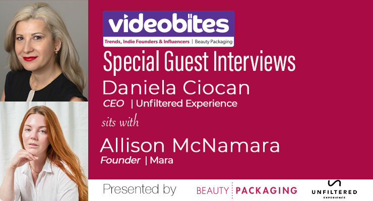 Videobite: Interview with Allison McNamara, Mara Beauty