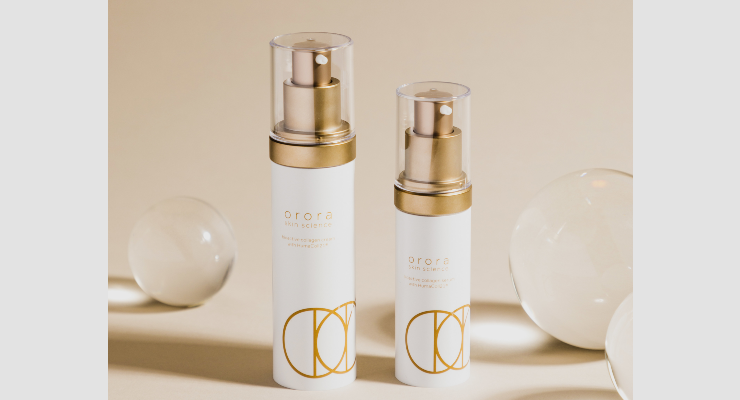 Orora Launches Skincare Products with Bioidentical Human Collagen Ingredient