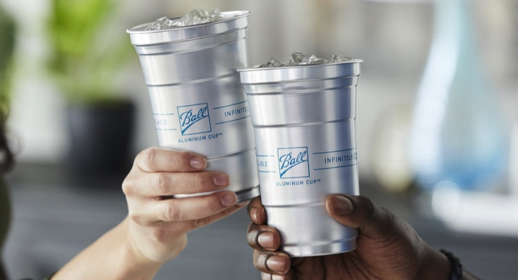 Ball Aluminum Cup Available at Major Retailers in All 50 States