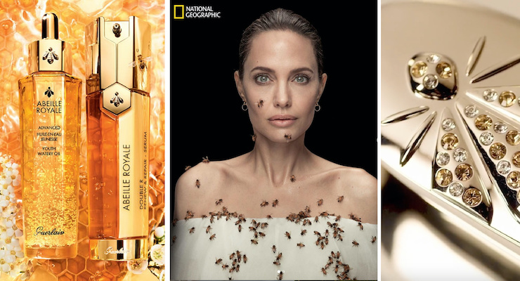 Guerlain Celebrates World Bee Day with the UN & Angelina Jolie