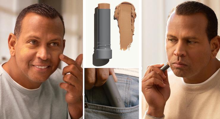 Alex Rodriguez is Selling Makeup for Men