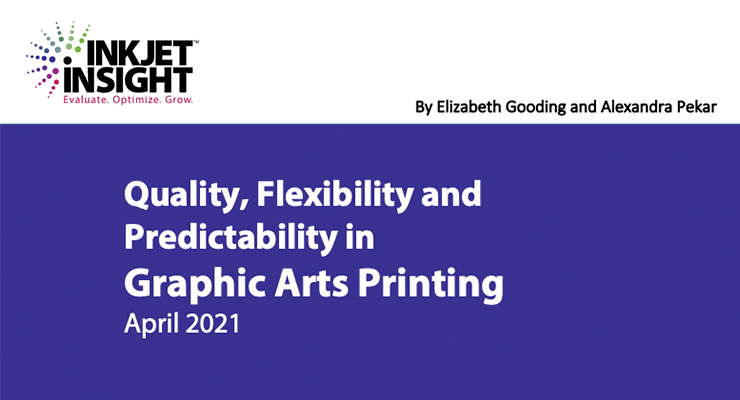 Quality, Flexibility and Predictability in Graphic Arts Printing