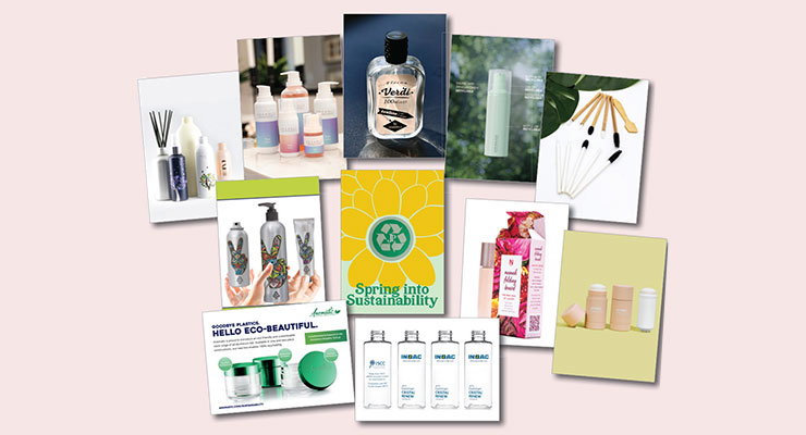 Sustainable Solutions Abound in Premier B2B Beauty Sampling Box