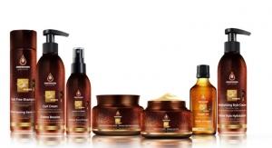 Moroccan Gold Series Revamps Argan Oil Salon Hair Care Collection
