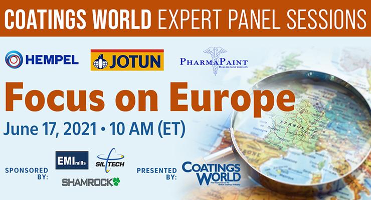 Coatings World Expert Panel: Focus on Europe