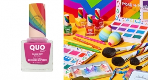 Canadian Brand Quo Celebrates Pride with Colorful Makeup & Packaging