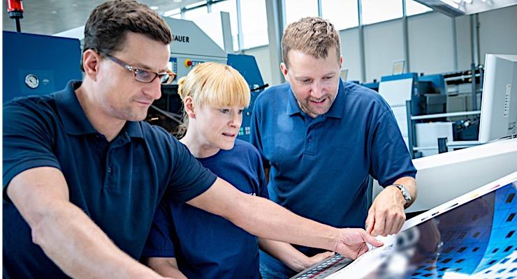 ACTEGA and Koenig & Bauer boast successful partnership