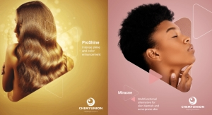 Chemyunion Launches New Ingredients for Hair Shine & Acne Treatment