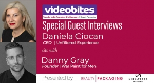 Videobite: Interview with Danny Gray, founder, War Paint For Men