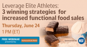 Leverage Elite Athletes: 3 winning strategies for increased functional food sales