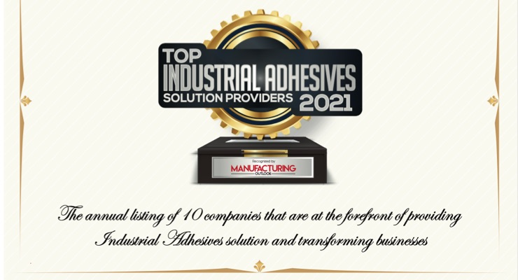 Cyngient named Top 10 Industrial Adhesives Solution provider